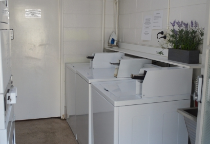 Hot water washing