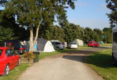 Non power tent sites